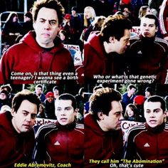 Coach and Stiles bonding... or at least that's what I'm going to call it.