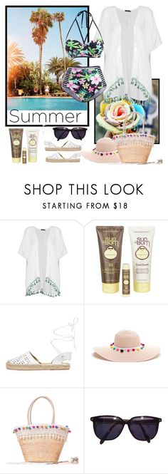 """""""Untitled #1268"""" by misaflowers ❤ liked on Polyvore featuring Boohoo, Sun Bum, Maiden Lane and Sonia Rykiel"""