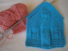 Button Tree Crafts: Little Woolly Houses