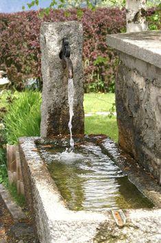 granite trough water feature - Google Search