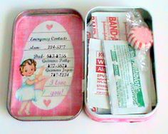 crafty couple: Back To School First Aid Kit