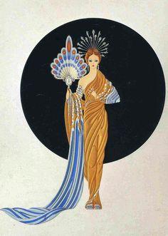 Athena by Erté