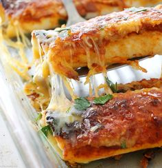These beef enchilada
