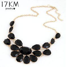 Mode dame Banket Accessoires multicolour acryl gem choker ketting Hanger sieraden verklaring bib ketting vrouwen 2014 M14