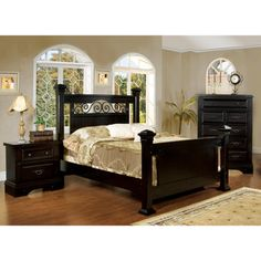 charm to your bedroom with one of these elegant queen bedroom sets