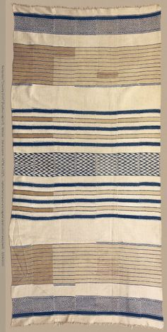 Display cloth/hanging, Mende or Vai peoples, Sierra Leone, early C20th. William Itter Collection, USA.