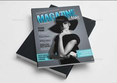 50 Pages Magazine Templat