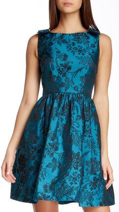 Ivy & Blu Sleeveless Bow Dress