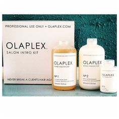 We'll be offering a free add-on service with Olapex to some of our Color Clients! #Olaplex