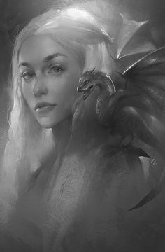 Kai Fine Art is an art website, shows painting and illustration works all over the world. Game Of Thrones Jewelry, Game Of Thrones Fans, Female Reference, Fire Art, Movie Poster Art, Mother Of Dragons, Amazing Art, Fantasy Art, Cool Art