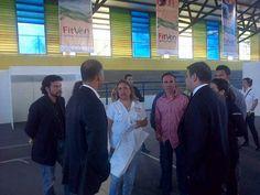 Ministro del Poder Popular para el Turismo, Andrés Izarra inspeccionó las obras de preparación e instalación de la #FitVen2013.