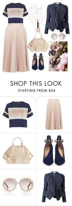 """""""Untitled #264"""" by jovana-p-com ❤ liked on Polyvore featuring Topshop, Brahmin, Christian Louboutin, GINTA, Chloé, Givenchy and Sephora Collection"""