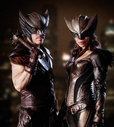 « And so it begins #legendsoftomorrow #hawkman #hawkgirl #thehawks »