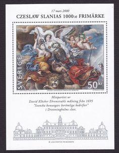 SWEDEN, 2000, 50 Kronor 'Czeslaw Slania's  stamp nr 1000', mini sheet, MNH   eBay