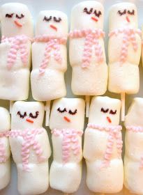 Icing Designs: Tis the Season for chocolate covered marshmallow snowmen!