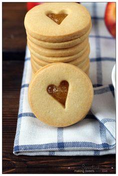Sable Cookies, Pastry Cook, Jam Cookies, Spa Party, Brownies, Pancakes, Chocolate, Cooking, Breakfast