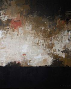 """Saatchi Online Artist Drew Aitken; Painting, """"Black Horizon"""" #art"""