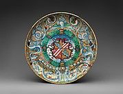 probably workshop of Maestro Giorgio Andreoli | Plate (tondino) | The Met