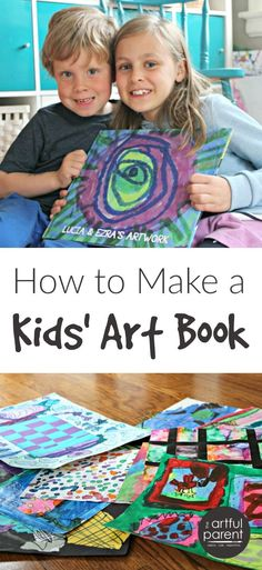 How to make a kids art book with PlumPrint. They provide a solution for the big question of what to do with all the kids art. And they make it EASY.
