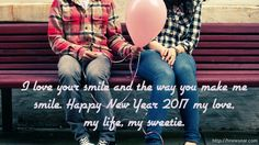 New Year Wishes for Wife 2017– New Year is like new life, we should forget all painful memory and sorrows and start a fresh life with memorable moments. Some relations are like birds, if you hold tightly they die and if you hold loosely they fly but if you hold …