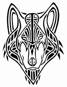 41 best maori wolf tattoo designs images tribal tattoos. Black Bedroom Furniture Sets. Home Design Ideas