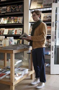 """POPEYE on Twitter: """"「Style Sample'16」発売中。ロンドンのシティボーイ代表、マーヴェリック(名前が、カッコいいぞ!)。あのMonocleがやってる新しいカフェ『kioskafe』のスタッフらしく、雑誌が大好き。ファッションも猛勉強中です。 https://t.co/MVdsr2yxbt"""""""