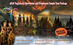 4D3N Yogyakarta Borobudur and Prambanan Temple tour Package    Day 01: Arrival Yogyakarta - Lava Tour - Malioboro (L,D)  Welcome to Jogja ..!! You will be greeted by your tour guide / driver cum guide on arrival at Adisucipto Airport Jogja, direct having lava tour to see lava flown ex. eruption on November 2010 covered rivers, houses, plantation and etc. Lunch at local restaurant, Afterwards, continue visit to see silversmith at old city of Kotagede and Batik home industry. Enjoy afternoon…