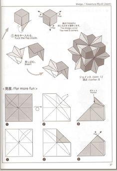 Origami 101, Origami Cube, Origami And Kirigami, Origami Ball, Modular Origami, Origami Folding, Useful Origami, Paper Crafts Origami, Geometric Origami
