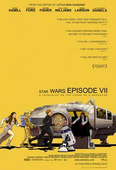 Esto es Star Wars: Episodio VII / mezcla Little Miss Sunshine por Josh Lange | Las 30 mejores obras de fanáticos de 2013