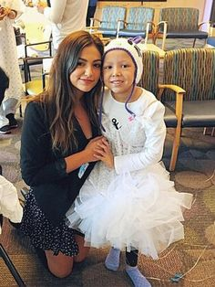 Bethany mota meets a cancer girl too cute
