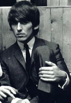 George. The best beatle. Kinda reminds me of Tom Cruise though