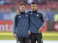 La curiosa charla entre los cracks previo a los penales contra Colombia.