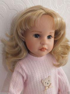 Götz Steiff Puppe ✿✿ Sammlerpuppe Manufakturpuppe GISELLE ✿✿ Gotz Doll Poupee