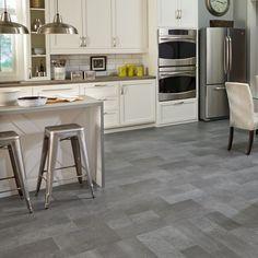 Mannington Adura Luxury Vinyl Tile Flooring Meridian Carbon Or Steel