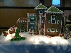 This amazing gingerbread replica of Mitchell Memorial Library was created by the IMC's Faye Fulgham and Bobbie Huddleston.