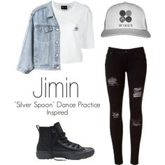A collection of some of my favorite outfits from the famous Kpop group, BTS. #bts