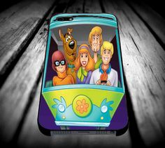 Scooby Doo in Car for iPhone 4/4s/5/5s/5c/6/6 Plus Case, Samsung Galaxy S3/S4/S5/Note 3/4 Case, iPod 4/5 Case, HtC One M7 M8 and Nexus Case ***