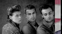 Douglas Booth, Theo James & George MacKay cover GQ Style Douglas Booth and Theo James together - i just can't!