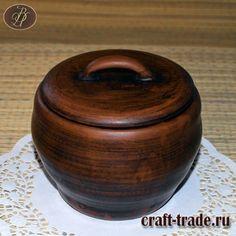 Керамический горшочек для тушения Чугунок - гончарная посуда из глины купить в интернет магазине Рукоделец