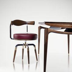 LINLEY | Bespoke design & furniture | Fullbeck Desk | Luxury Gifts & Homeware, Furniture, Interior Design, Bespoke
