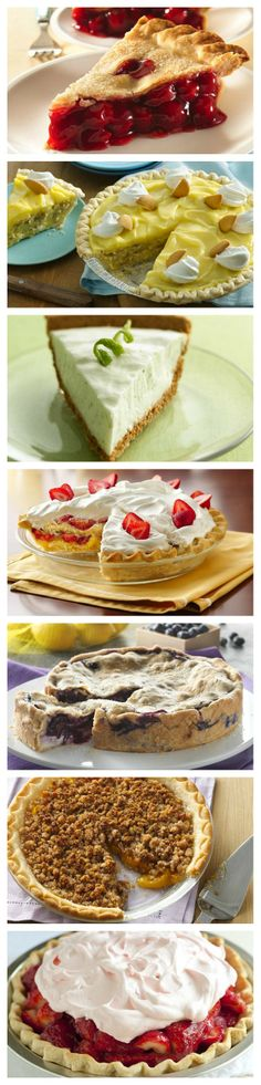 Pillsbury's favorite Spring Pie recipes - from fruit to creamy, to chocolate and even gluten free!