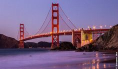 Golden Gate Bridge Sunset @ Marshall Beach by Swapan Jha on Flickr.