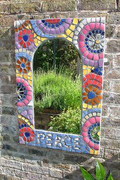 Garden Mirror by moon marinka, via Flickr