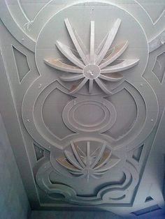 False Ceiling Section Drawing
