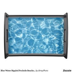 Blue Water Rippled Poolside Beachouse Entertaining