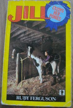 Jill Enjoys Her Ponies by Ruby Ferguson; Knight Books 1980