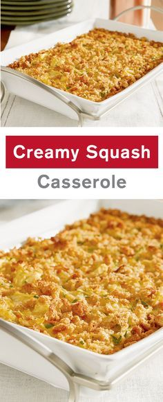 This creamy, crowd-pleasing side dish features summer squash, carrots, stuffing mix, and cheese baked in a creamy sauce. Crispy on top and. Summer Squash Casserole, Yellow Squash Casserole, Vegetable Casserole, Recipe For Squash Casserole, Zuchinni Casserole, Runza Casserole, Ravioli Casserole, Broccoli Casserole, Vegetable Dishes