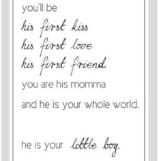 Oh my this made me tear up! <3 can't wait for my little boy to arrive!!!