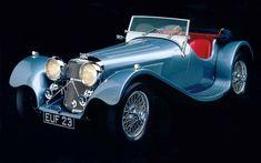 Jaguar SS100 Convertible, 1938