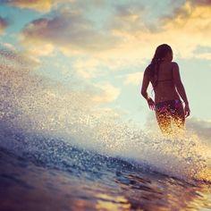 Surfing. #surfing #surfinggirls #surfimage #getfitandhealthy